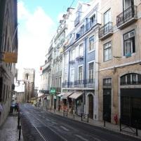 Straßen in Lissabon